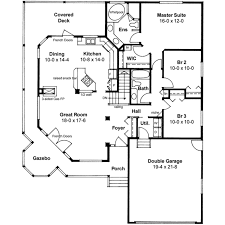 country style house plan 3 beds 2 00 baths 1506 sq ft plan 126 130