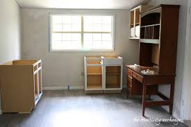 are unfinished cabinets cheaper create built in shelving and cabinets on a tight budget