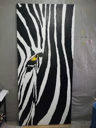 cuadro abstracto moderno zebra blanco y negro decoracion cuadro abstracto moderno zebra blanco y negro