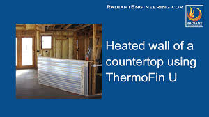 Ultra Fin Radiant by Thermofin U For Radiant Heated Walls Youtube