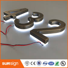 stainless steel number promotion shop for promotional stainless