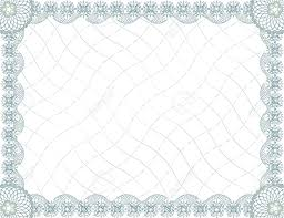 light blue download blank free certificate border
