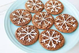 snowflake cookies crinkle snowflake christmas cookies