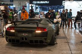 Lamborghini Murcielago Back - tokyo auto salon news