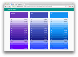 Blue Color Palette by Web Intro Emoji 2 Github