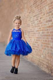 royal blue lace flower dresses gowns for wedding ball gowns