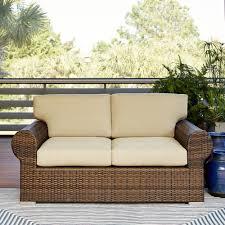 All Weather Wicker Loveseat Lane Outdoor Furniture
