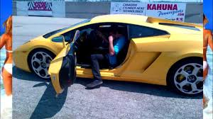 Lamborghini Gallardo Old - 18 year old kid drives lamborghini gallardo youtube
