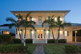 plantation style home tropical resort living key biscayne home plantation style