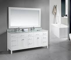 78 Bathroom Vanity Design Element 78 Inch Modern Bathroom Vanity White