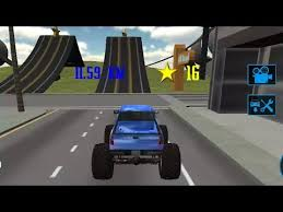 monster truck driving simulator 3d gameplay racing stunts free