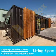 2015 the latest design luxury 40ft prefab shipping container homes