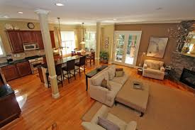 decorating ideas for open living and dining room floor plan 2
