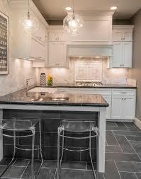 black and white kitchen floor ideas amusing kitchen best 25 black slate floor ideas on