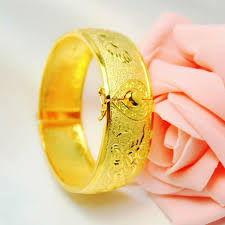 2014 999 gold plated and bracelet marriage