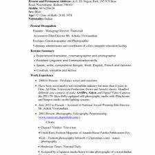 photographer assistant resume template sample for manager doc sles