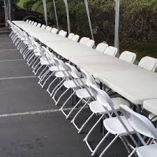 rent folding chairs chair rentals white chair los angeles ca big blue sky party