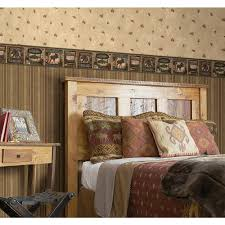 Bedroom Wallpaper Borders York Wallcoverings Lake Forest Lodge Realtree Camouflage Wallpaper