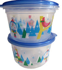 ziploc limited edition holiday colored storage containers w lids