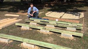 How To Build A Small Backyard Storage Shed by How To Level A Shed By Heartland Sheds Youtube
