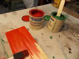 Minwax Water Based Stain With Minwax Water Based Wood Stain After by Wood Finishing Tips For Diyers From Christina U0027s Adventures
