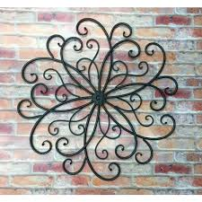 home decorating wall art outdoor wall hangings incredible iron art decor wrought planters