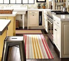 Black White Striped Rug Striped Kitchen Rug Roselawnlutheran