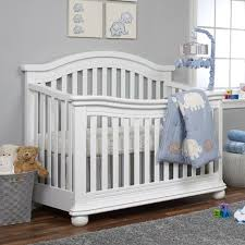 Non Convertible Cribs Sorelle Vista Elite 4 In 1 Convertible Crib White Babies R Us