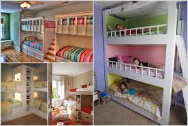 Two Bunk Beds 31 Practical Bunk Bed Designs For More Than Two