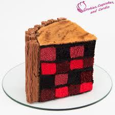 Costco Halloween Cake by How To Make A Lumberjack Cake