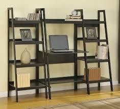 Leaning Ladder Shelf Ikea Enchanting Leaning Bookcase For Desk 43 Leaning Bookshelf Desk