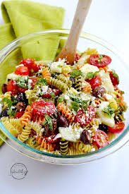 salad pasta greek pasta salad a pinch of healthy