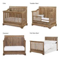Baby Convertible Crib Bertini Pembrooke 4 In 1 Convertible Crib Rustic Baby