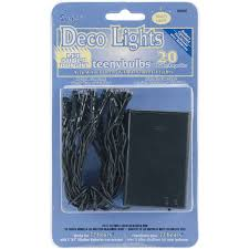 darice deco lights battery operated teeny bulbs with