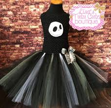 Jack Skeleton Costume Jack Inspired Tutu Dress Jack Skellington Tutu Dress Skeleton
