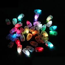 Halloween Christmas Lights 100pcs Lot Colorful Led Lamps Balloon Lights For Paper Lantern