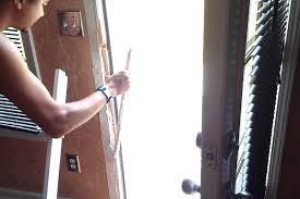how to repair a broken door jamb door kicked in repair door jamb