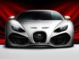 bugatti concept venom concept car front