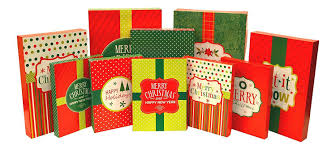 christmas boxes christmas multi color festive gift wrapping