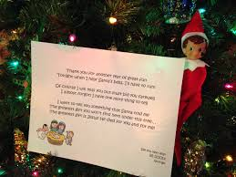 on the shelf farewell letter states best gift not