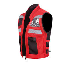 red motorcycle jacket vt motorcycle red reflective visibility base vest u2013 jackets4bikes