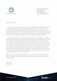 company letterhead template 2 templatelab exclusive education