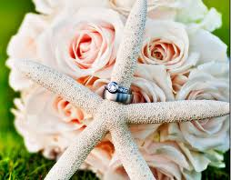 theme wedding bouquets theme wedding bouquet with a seastar png
