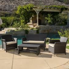 Contemporary Outdoor Patio Furniture Contemporary Patio Furniture Outdoor Seating Dining For Less