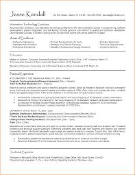 sle cv cv computer science graduate computer science resume sle for