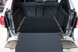 Bmw X5 F15 - 3 part trunk mat with bumper protection fits for bmw x5 f15 2013