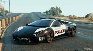 lamborghini reventon reventon police for gta 5