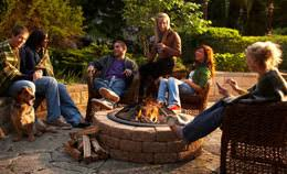 lowes wood burning fire pits outdoor heating buying guide