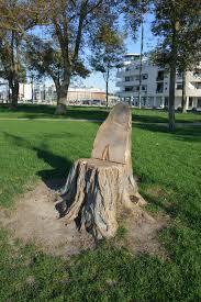 siege en forme de file tronc d arbre découpé en forme de siège 3 jpg wikimedia commons