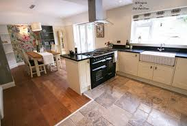 kitchen diner flooring ideas shaker cabinets shaker fitted kitchen by